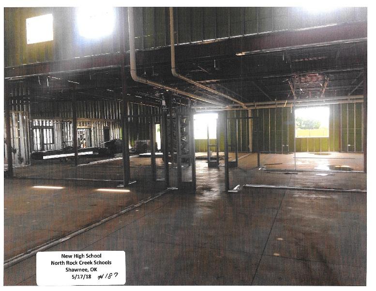 North Rock Creek Public Schools - High School Construction Pictures